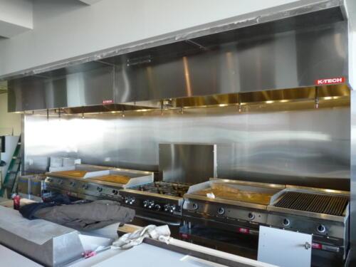 Restaurant Kitchen Exhaust Hood