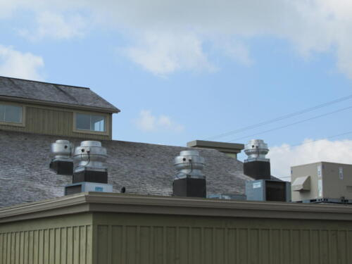 Commercial Kitchen Exhaust Fan and Make-up Air