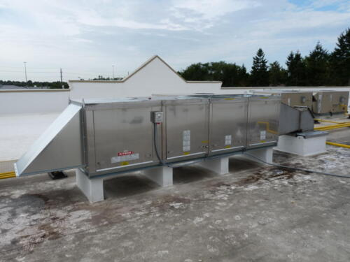 Commercial Kitchen Exhaust Fan Install