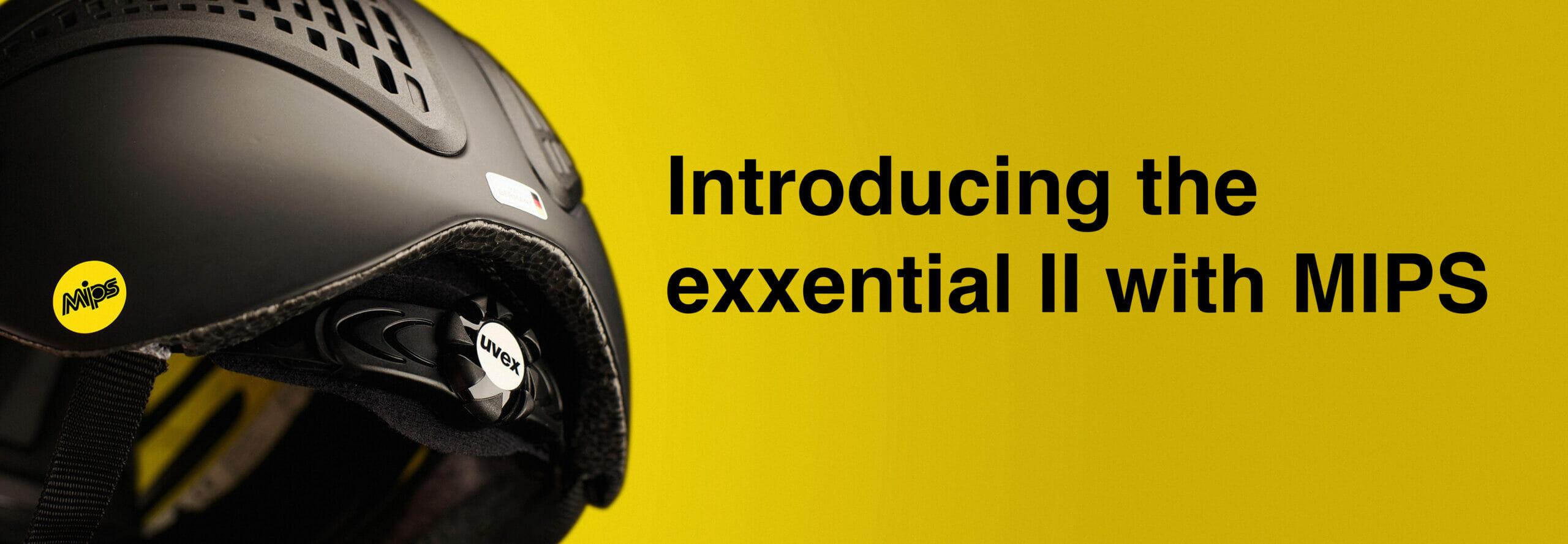 uvex equestrian riding helmet exxential II MIPS
