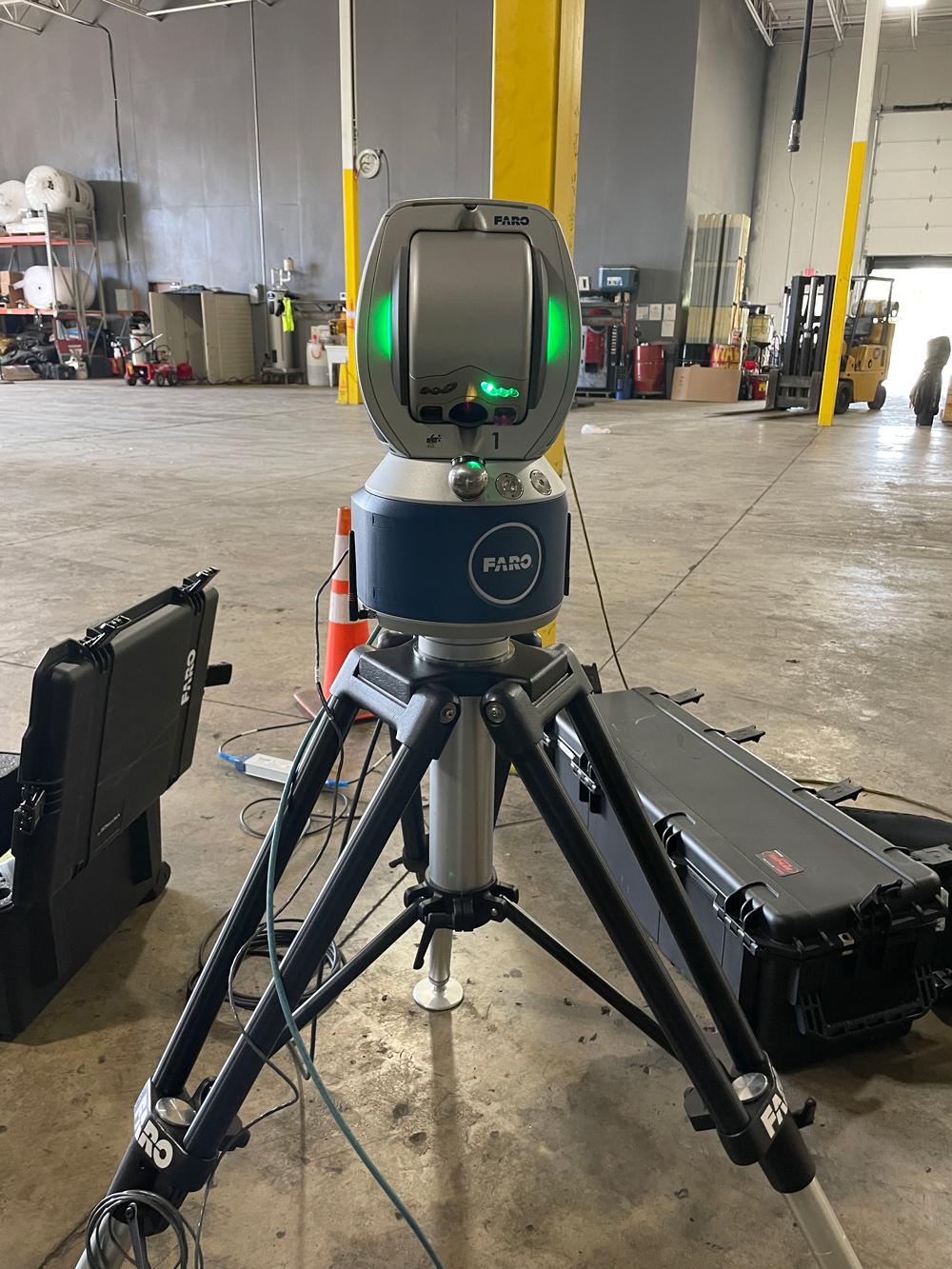 Faro 3D Vantage Laser Tracker, Measure Area
