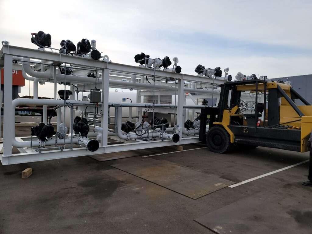 60000 lb valve frame pick