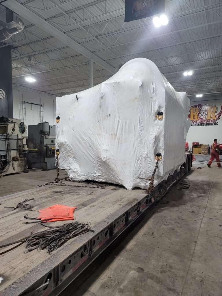 Trucking oversized equipment