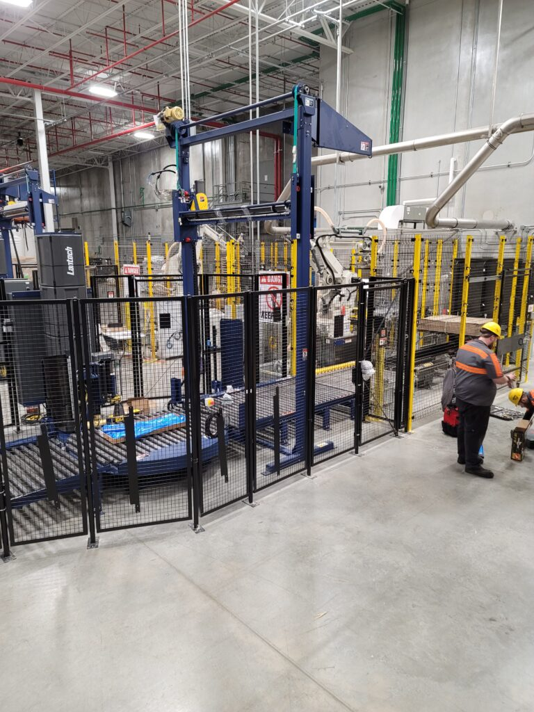 installing a packaging line