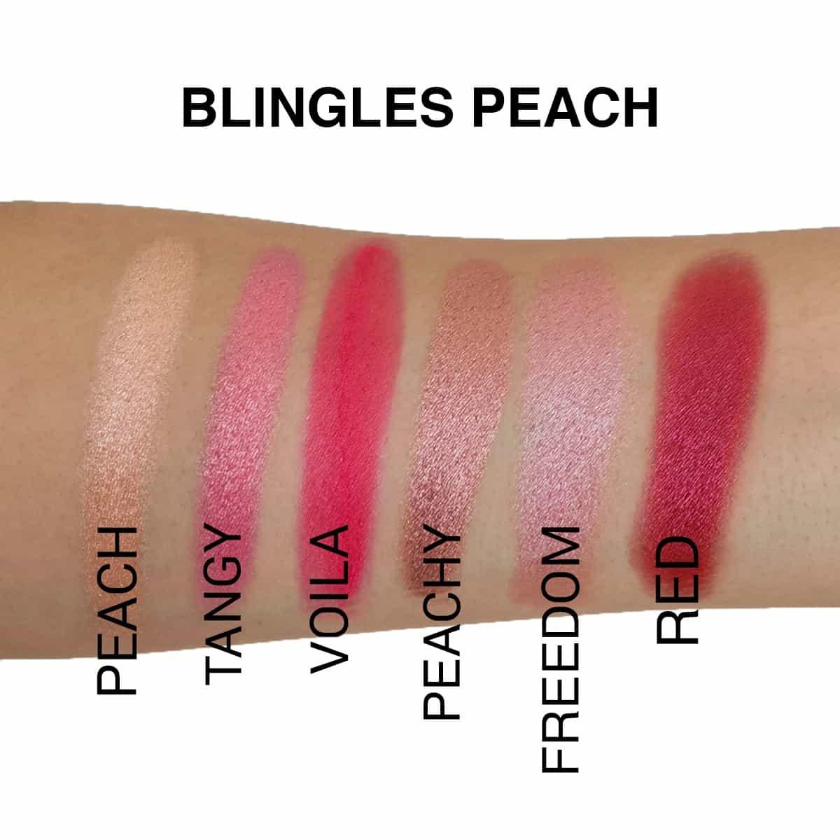 Blingles-Peach