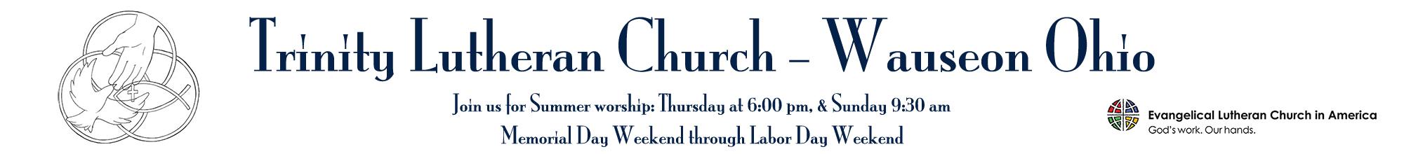 Trinity Lutheran Church – Wauseon Ohio