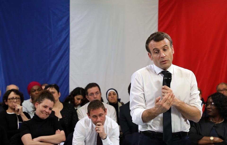 Let's Get Political : Le Grand débat national