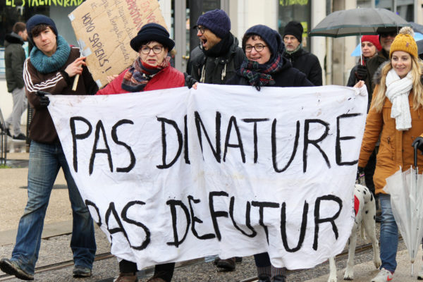 Cover Photo Reims marches for the climate