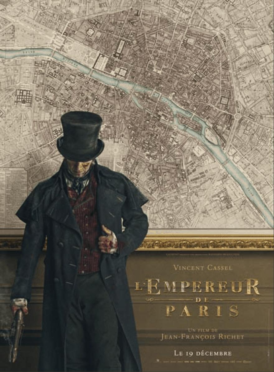 L'empereur de Paris ou la stagnation du film historique français