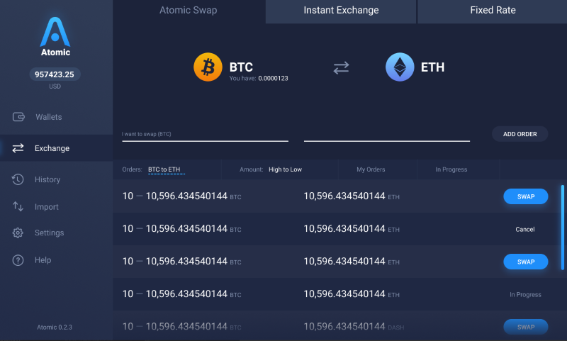 Atomic Wallet  listed as one of best Tron wallets