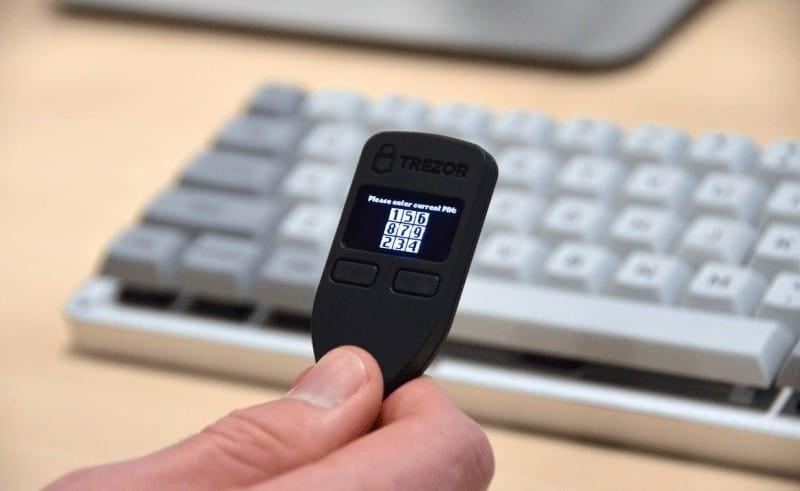 Trezor Wallet for TRON listed as one of best Tron wallets
