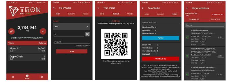 Tronscan Tron official  listed as one of best Tron wallets