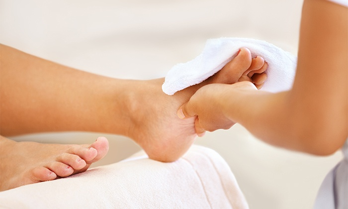Spring Into Summer – Foot Scrub and Massage