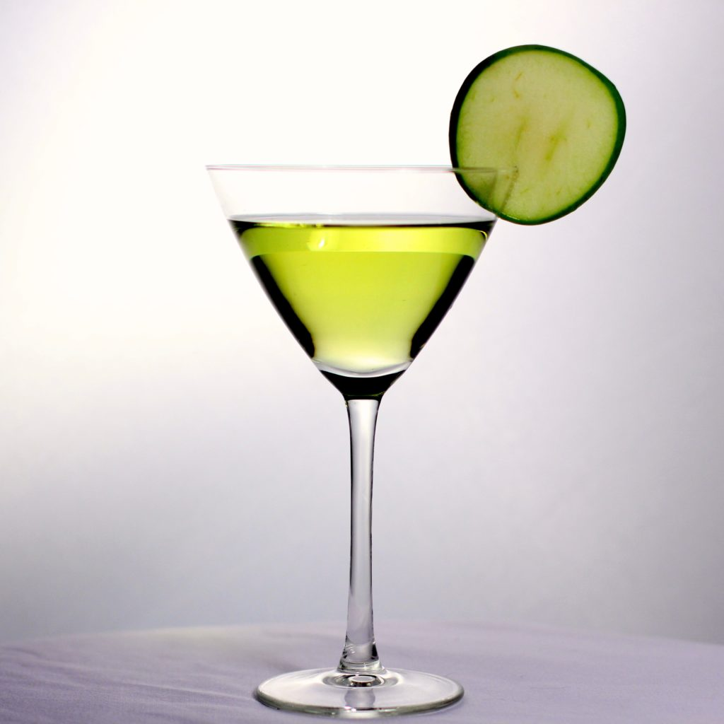 Bachelorette cocktail Apple Martini