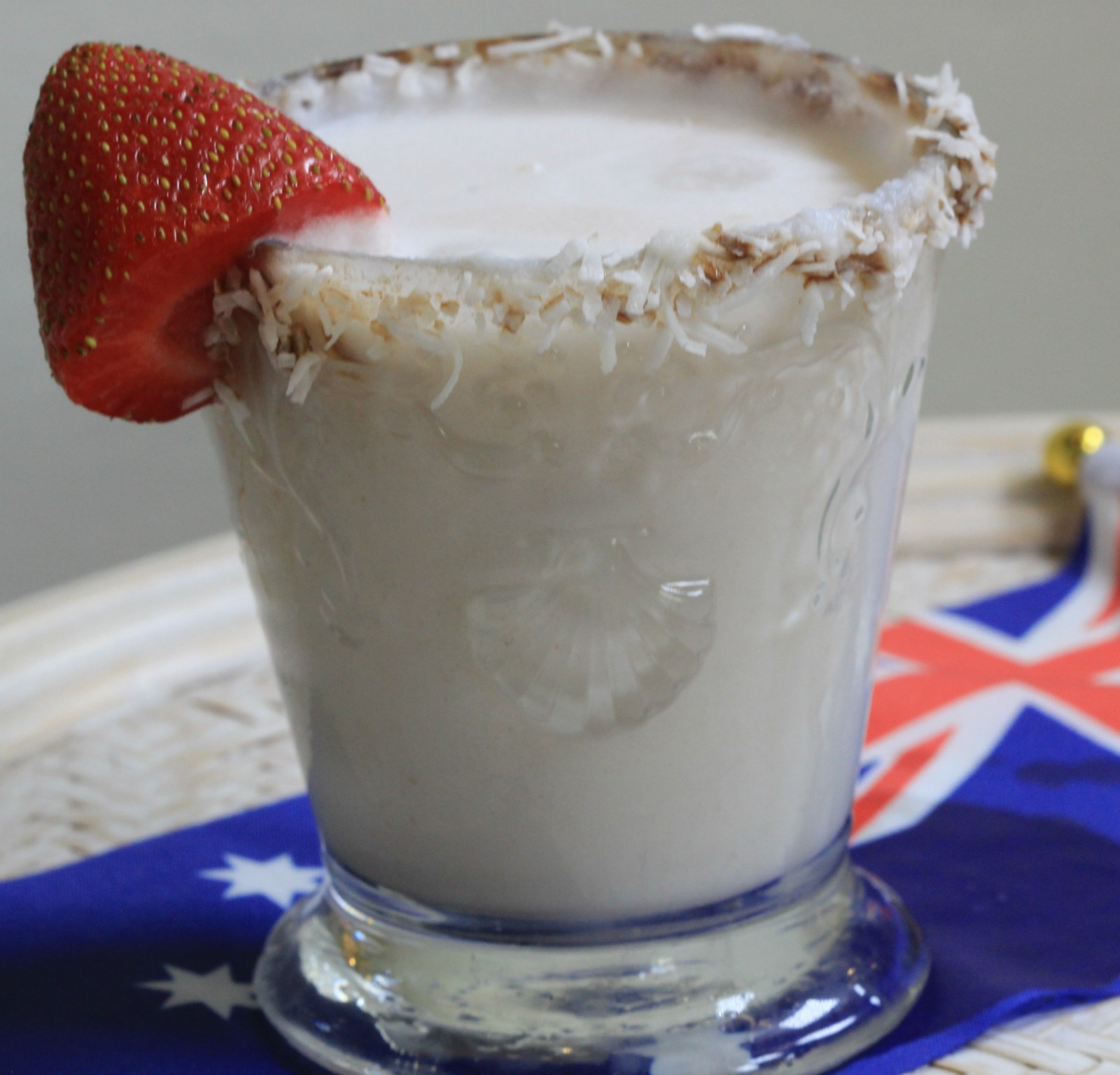 Lamington cocktail recipe