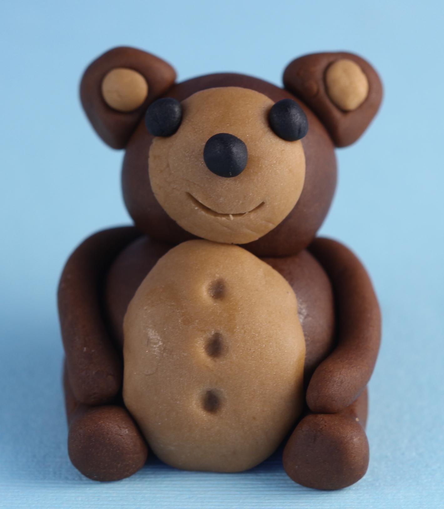 Fondant Teddy Bear