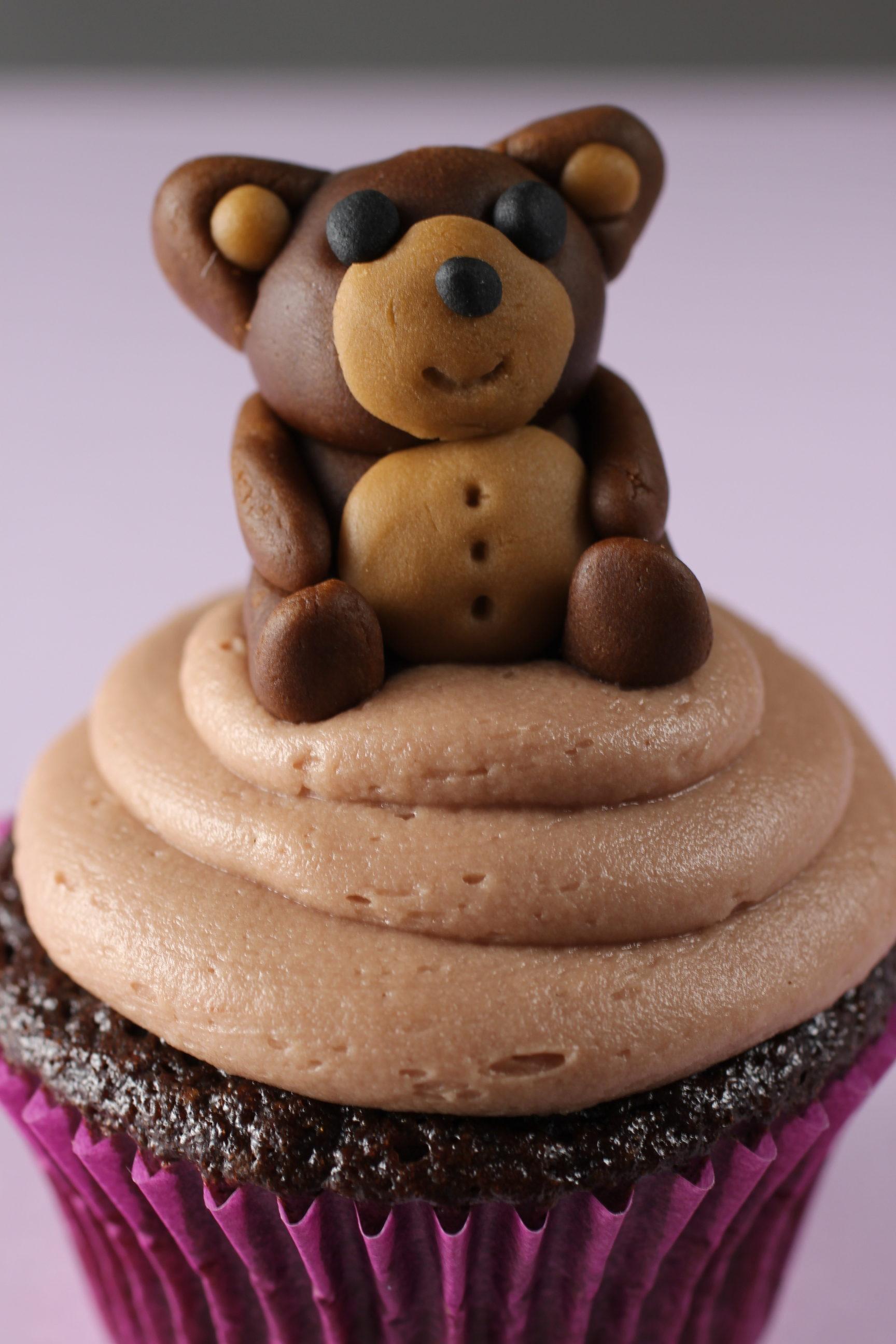 Nutella Cupcake with Nutella Buttercream