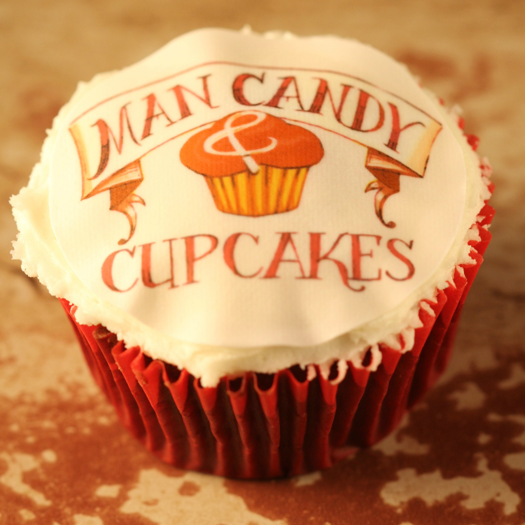 Man Candy & Cupcakes Topper