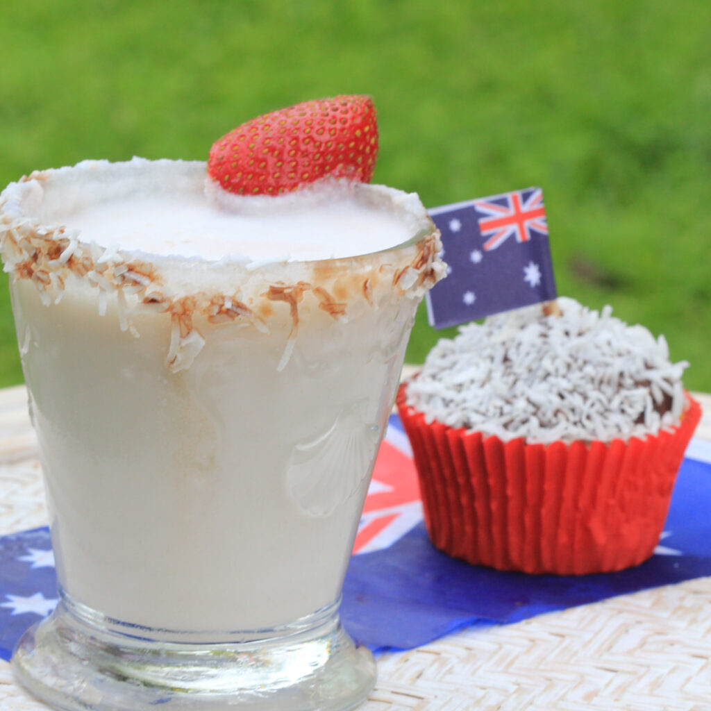 Babe Scott Australia Day Lamington Cupcake