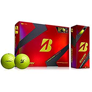 bridgestone b330 tour yellow golf balls