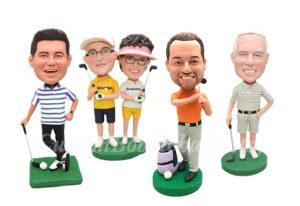 custom golf bobblehead doll