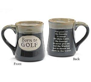 funny golf mug, the golfers creed