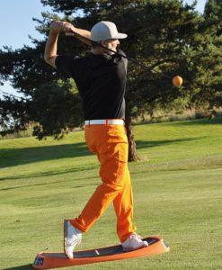 golf swing balance trainer, golf training aid