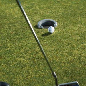 golf putting training aid, golf putting trainer