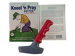 kneel and pray putter, funny golf gag gift