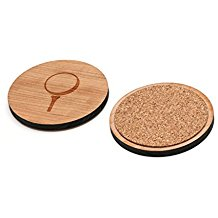 laser cut wooden golf coasters