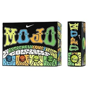 nike mojo assorted colors golf balls
