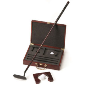 personalized executive putter set engraved