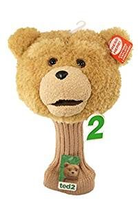 ted talking golf headcover, funny golf gift