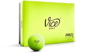 vice golf pro plus lime green golf balls