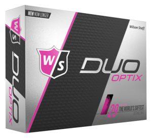 wilson duo womens pink golf balls