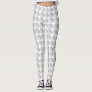womens golf ball leggings