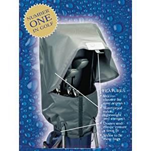 seaforth golf bag rain cover, waterproof golf rain gear, golf necessities