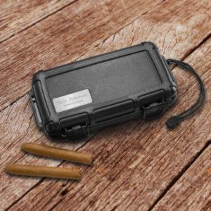 waterproof cigar holder, rain gear gift for golfers, golf rain gear