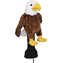 bald eagle golf club headcover, patriotic golf headcover, eagle headcover