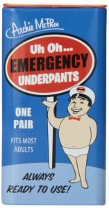 emergency underwear, golf gag gift, funny prank gift for golfers
