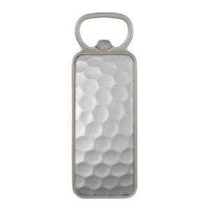 golf ball bottle opener, bottle opener for golfers, golf drinking gift