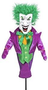 joker golf headcover, joker golf head cover, villain golf driver headcover