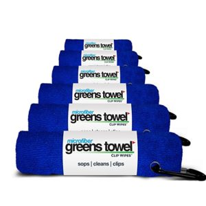 microfiber golf towel, golf tournament gifts, golfer goodie bag ideas