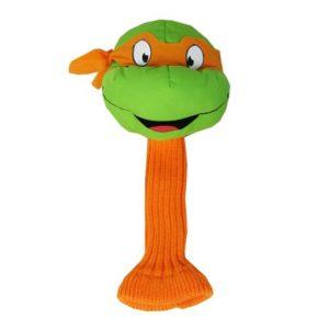 tmnt mikey golf headcover, ninja turtle golf head cover