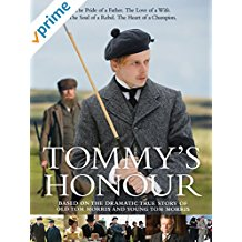 tommys honour golf movie, new golf movies, historical golf movies