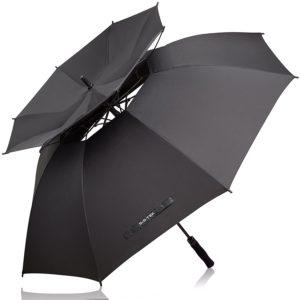 double vented golf umbrella