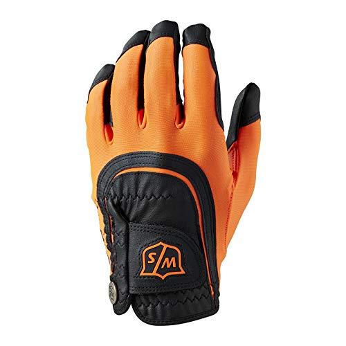 wilson staff orange golf gloves, colorful golf gloves