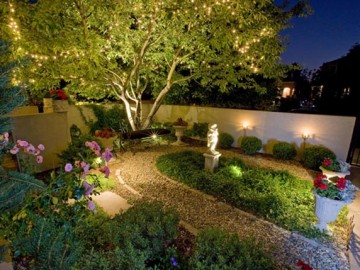 Landscape Illumination: Modern Light Designs for Gardens