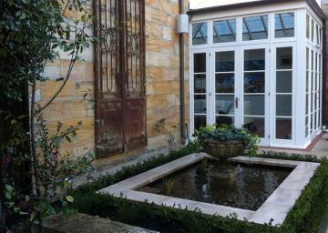 Secret Garden Alcoves Come Alive with Hidden Passages & Beauty