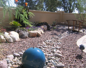 Create Visual Appeal & Control Water Runoff with Dry Riverbeds